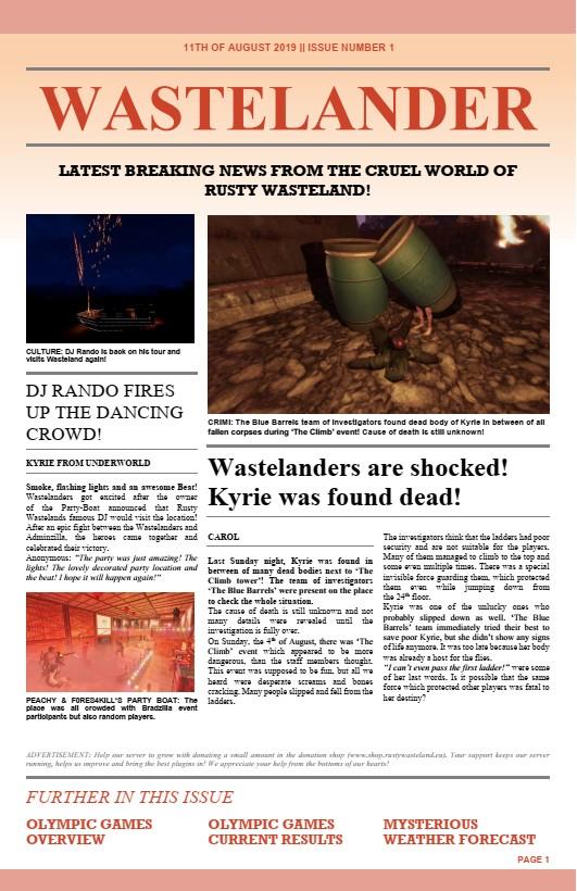 wastelander nr1